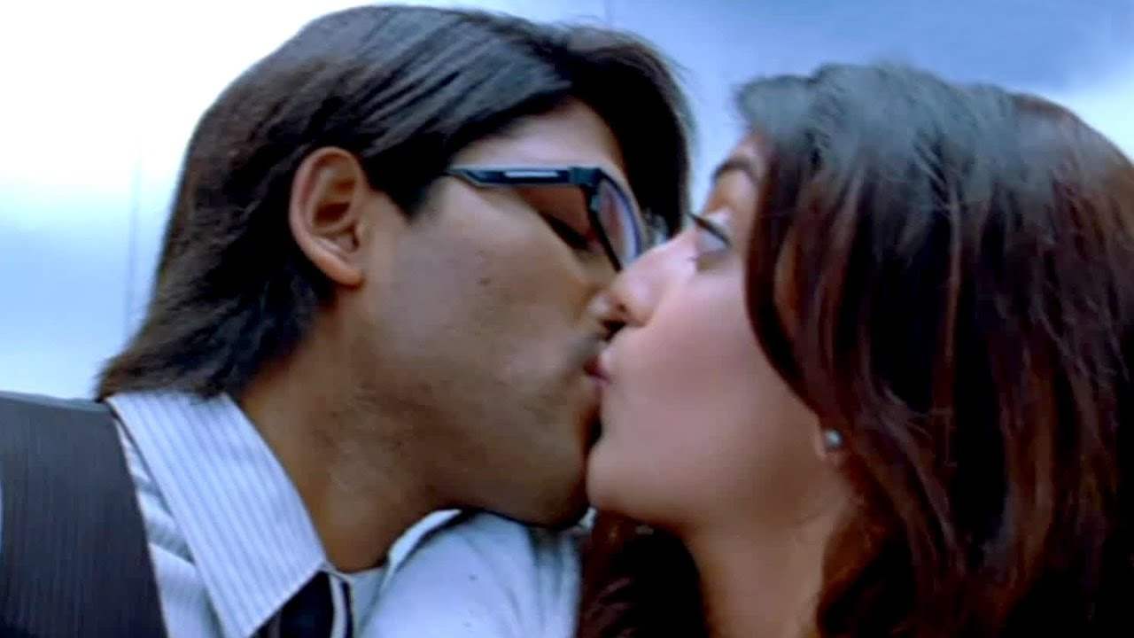 Kajal Agarwal Hot Lip Kiss