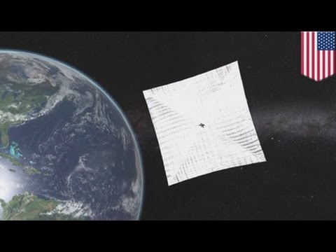 Sailing in space : Planetary Society