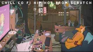 Making A Chill Lo-Fi Hip Hop Beat From Scratch(Free Project File)