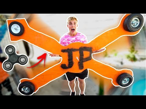 Thumbnail: WORLDS BIGGEST FIDGET SPINNER (INSANE SPINNING)