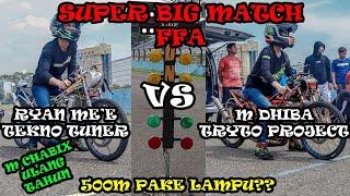 Download Video SUPER BIG MATCH FFA !!! TRYTO PROJECT VS TEKNO TUNER FULL RACE, JELAS DARI START SAMPE FINISH !!! MP3 3GP MP4