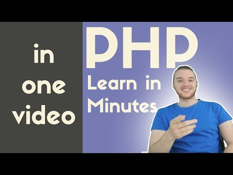 PHP Programming | In One Video