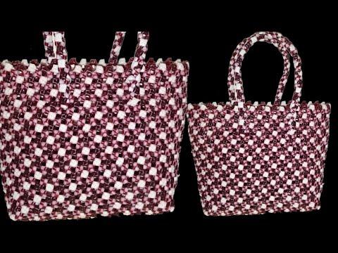 2 Roll Plastic wire Dot design Crosscut koodai (1/2)   Plastic Wire basket Weaving  Crosscut koodai