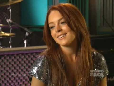 Lindsay Lohan - On The Spot Questions (AOL 2004)