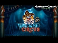 "Online casino slot ""Wicked Circus"" (review)"