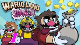 Wario Land Shake It | Let's Play Ep. 1 | Super Beard Bros.