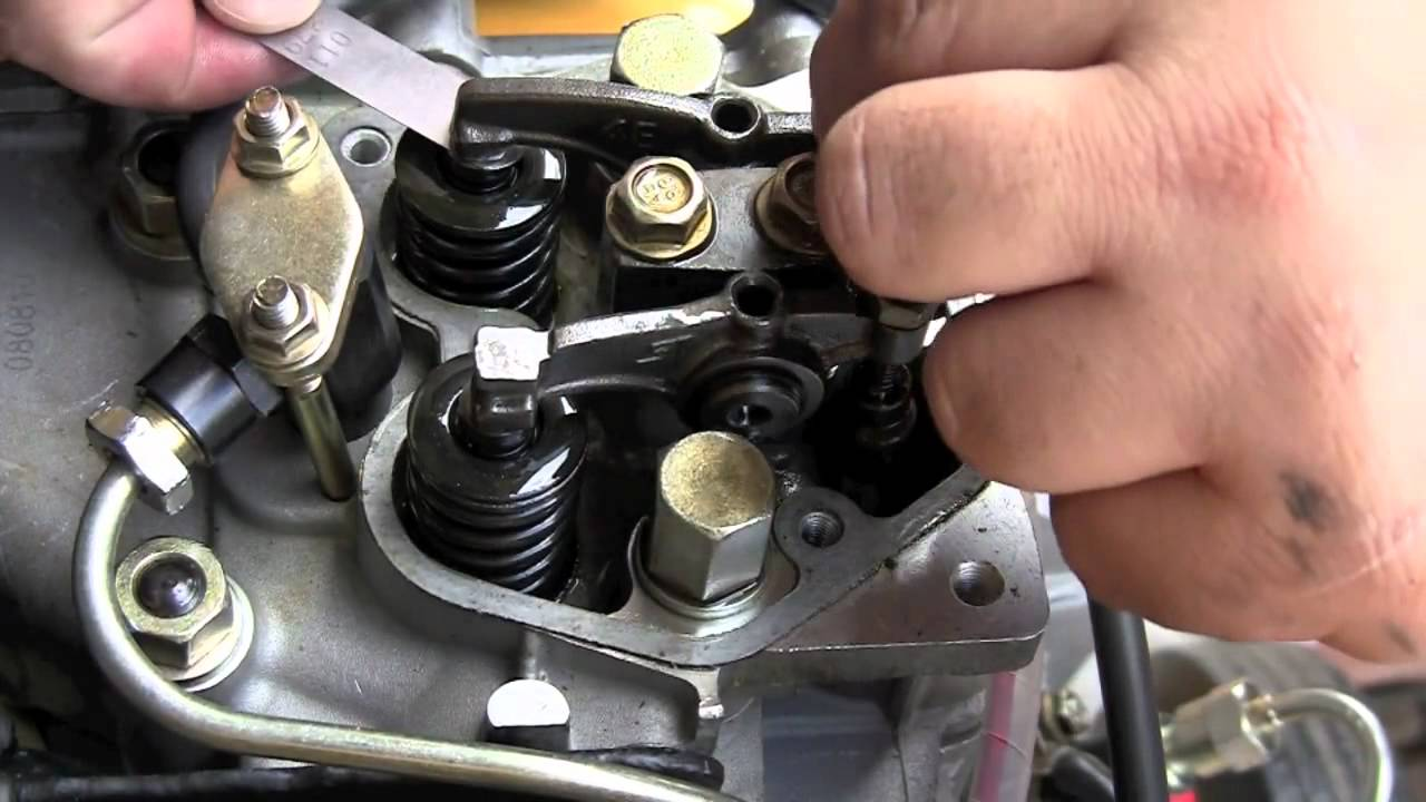 Diesel Generator Valve Adjustment Youtube