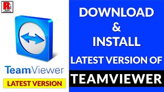 Gambar cover DOWNLOAD AND INSTALL THE LATEST TEAMVIEWER