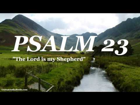 PSALM 23 KJV - FULL AudioBook | Greatest Audio Books | Holy Bible King James Version