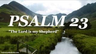 PSALM 23 KJV - FULL AudioBook | Greatest Audio Books | Holy Bible King James Version