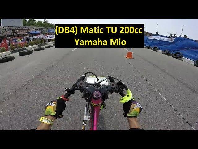 #352 Rio Jangkrik | Yamaha Mio | (DB4) Matic TU 200cc | Drag Bike Kapolres Karimun Cup 2018
