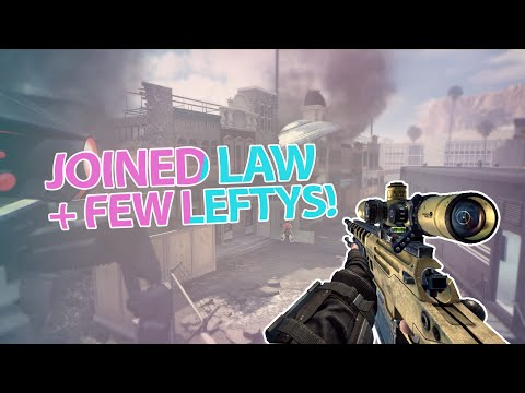 Law Display: Joined Law + Few Leftys ! (BO2)