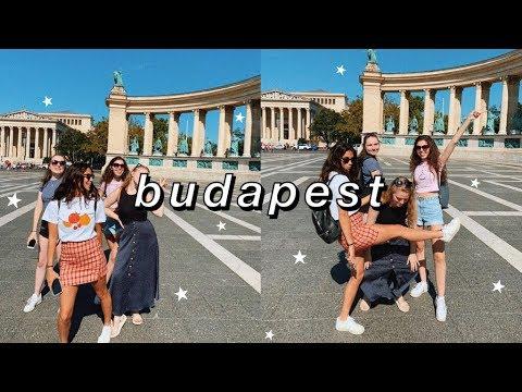 a girls trip to BUDAPEST! budapest vlog ☆