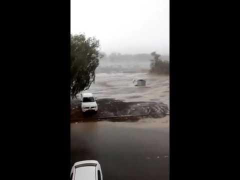 Thundershowers hit parts of Oman