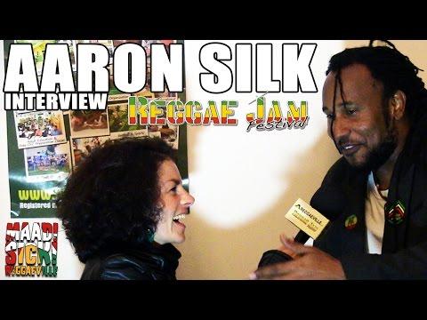 Interview with Aaron Silk @Reggae Jam 2015