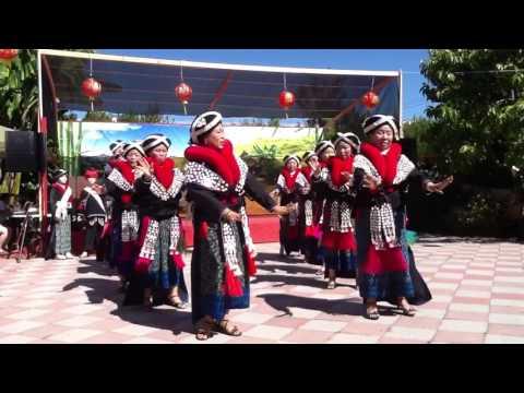 Mien dance @ Oakland temple