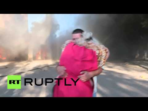 Ukraine: Donetsk residents in tears after shelling attack