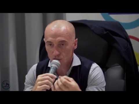 Juri Chechi al Palazzetto Acquamare Sport