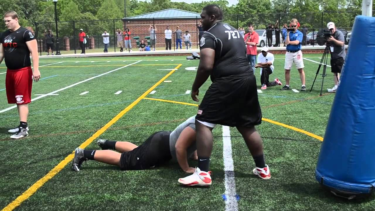 Atlanta Nike Football Training Camp OL-DL One-on-ones ... - photo#6