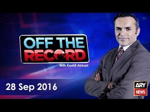 Off The Record 28th September 2016