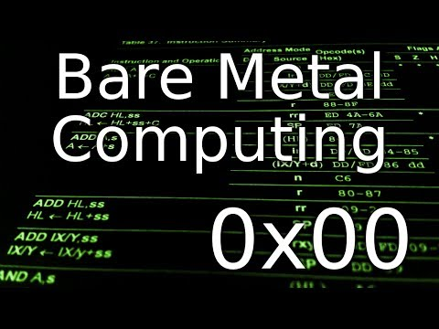Bare Metal Computing 0x00 - Dive into binary data and the machine code