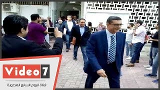 محمود طاهر يتقدم بأوراق ترشحه لرئاسة النادى الأهلى لفترة جديدة