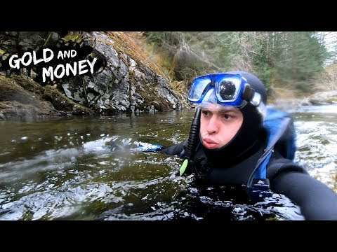 How To Find GOLD Mining Underwater!