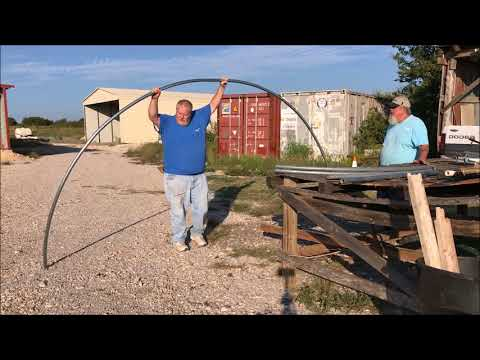 How to Bend Pipe For DIY Greenhouse Build