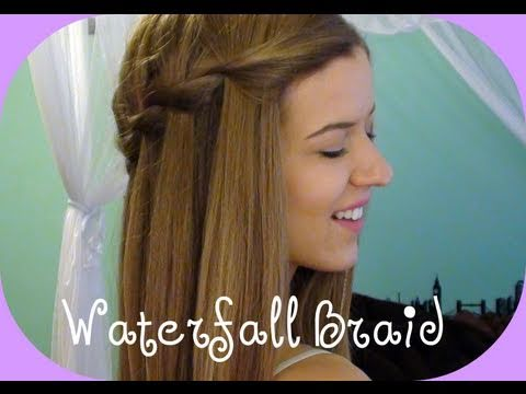 Waterfall Braid Tutorial 2020
