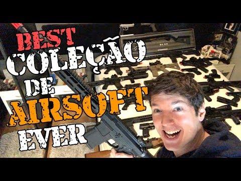 A Maior Coleção De Airsoft By Luiz Rider - Airsoft Brasil