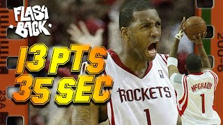13 POINTS EN 35 SECONDES DE TRACY MCGRADY - LE FLASHBACK #11 - LE PLUS GRAND COMEBACK DE LA NBA