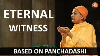 Swami Sarvapriyananda at IITK: The Eternal Witness (based on Panchadashi)