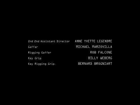 The Blacklist Redemption  Closing Credits 2017