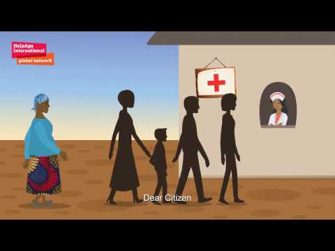 Older people have a right to healthcare - an animation from HelpAge Mozambique