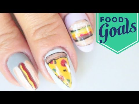 10 Junk Food Nail Art Designs | Food Network