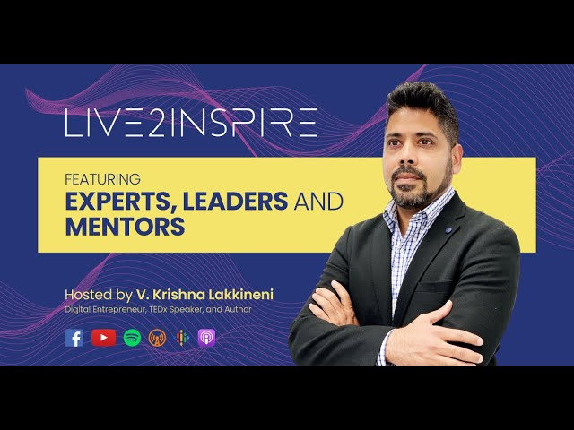 Live2Inspire Season 2: Introducing our Guests!