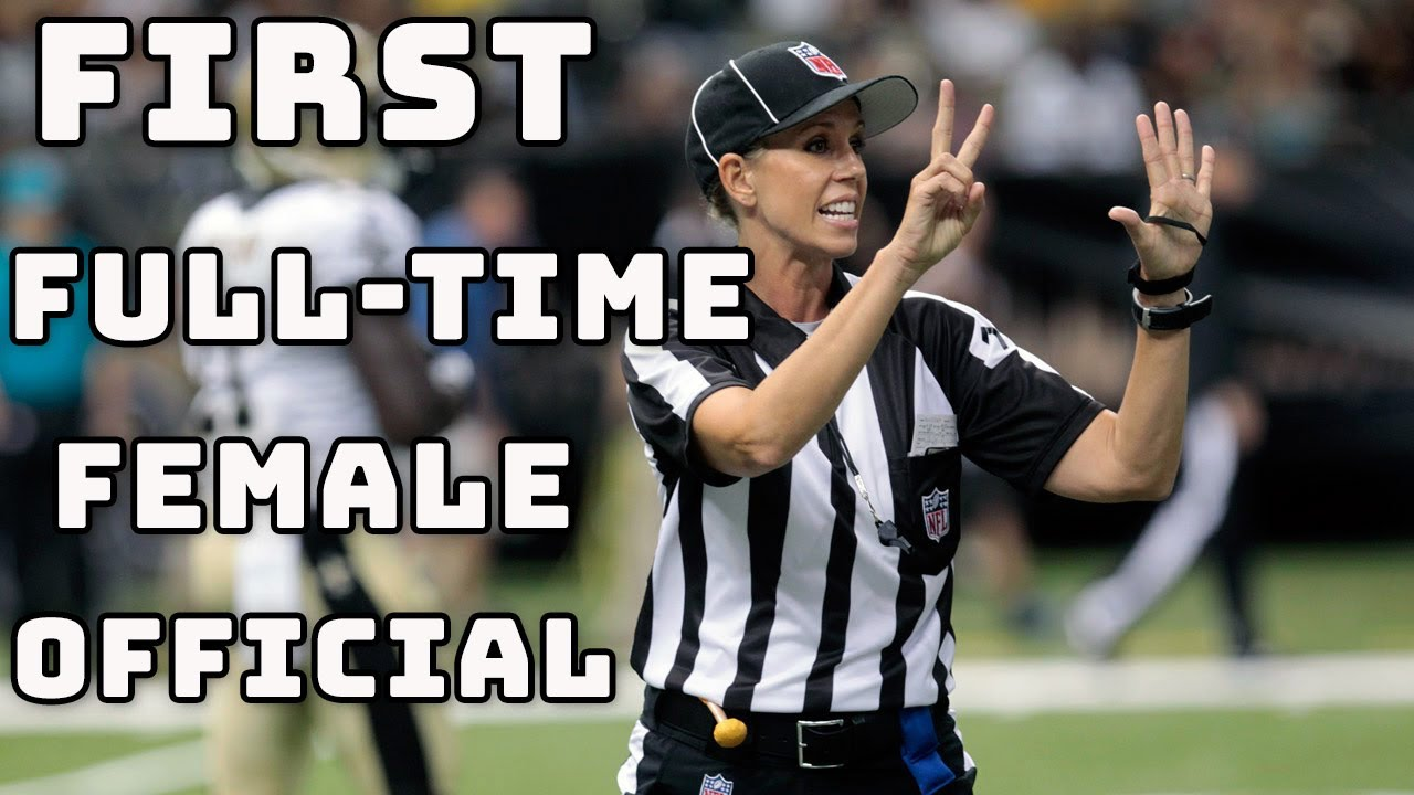 Meet Sarah Thomas the NFL's First Full-Time Female Official | NFL 360 Changing Stripes