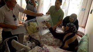 Erzincan' da Sandıklar Vatandaşların Ayağına Gitti