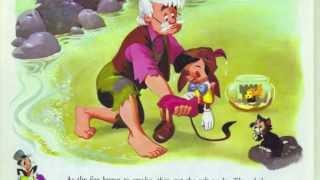 """A reading of """"Pinocchio"""" - Disney Golden Book (2/2)"""