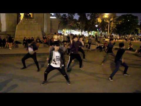 Campo de Marte enero 2017 BTS - Save Me Cover by Ethernal Peru