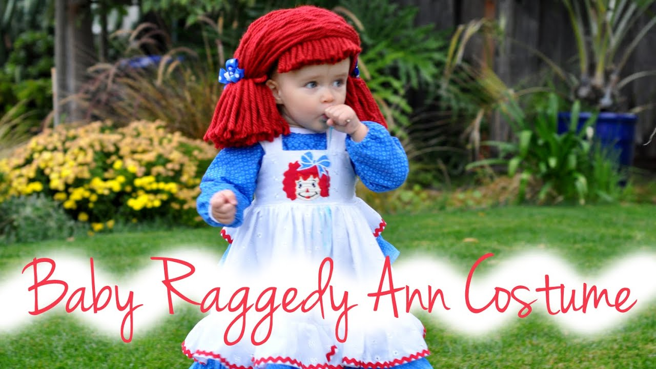 Baby Lucy as Raggedy Ann  sc 1 st  YouTube & Baby Lucy as Raggedy Ann - YouTube