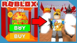 Spending 1,000,000,000,000 Dollars on NEW MAGMA EGG In Roblox Magnet Simulator
