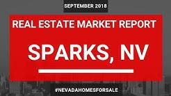 Sparks Nevada Real Estate Market Update Sept 2018 | Nevada Homes for Sale