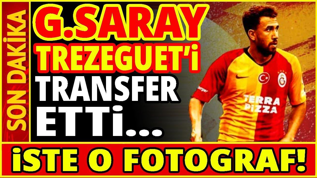 Trezeguet Galatasaray'da! (İŞTE O FOTOĞRAF)