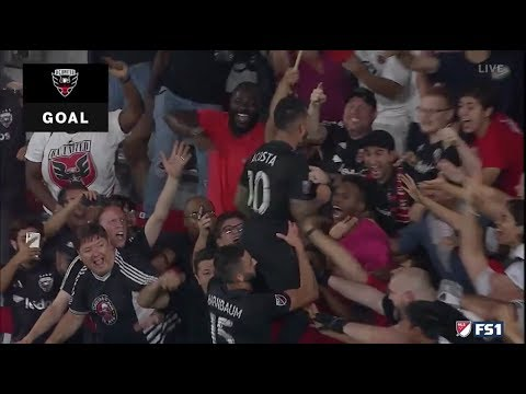 Sick play by Wayne Rooney!!! DC United win in stoppage time!