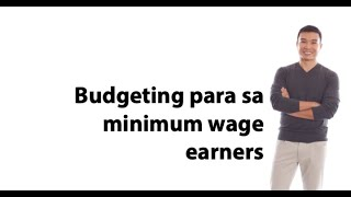 #UsapangPera 161: Budgeting for minimum wage earners