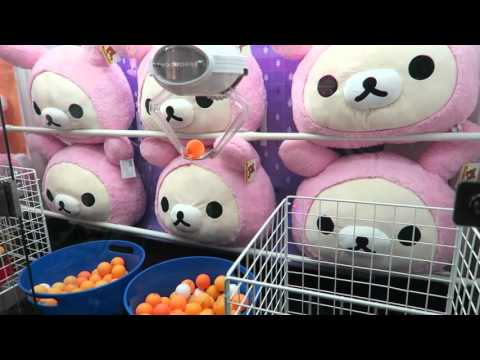 UFO catchers during our trip to Round 1 Arcade in Santa Ana! - Arcade Antics Ep. 1
