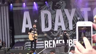 Champagne Supernova - A Day to Remember LIVE Download 2015 HD