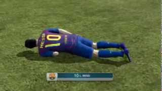 FIFA 12 - FC Chuck Norris vs Barcelona @antonyowilliam
