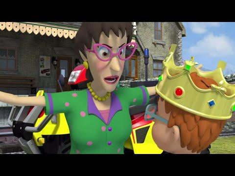 Пожарный Сэм ⭐️ Король в беде! 🚒 Компиляция Новые серии 🔥мультфильм
